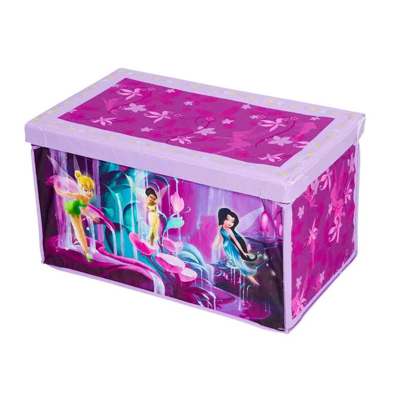 Короб для игрушек - ФеиКорзины для игрушек<br>Короб для игрушек - Феи<br>