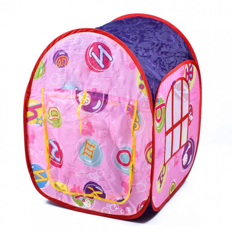 Детская игровая палатка – Красивый домик, в сумкеДомики-палатки<br>Детская игровая палатка – Красивый домик, в сумке<br>