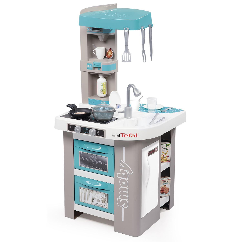 Купить Игрушечная электронная кухня – Tefal Studio, звук, 26 аксессуаров, Smoby