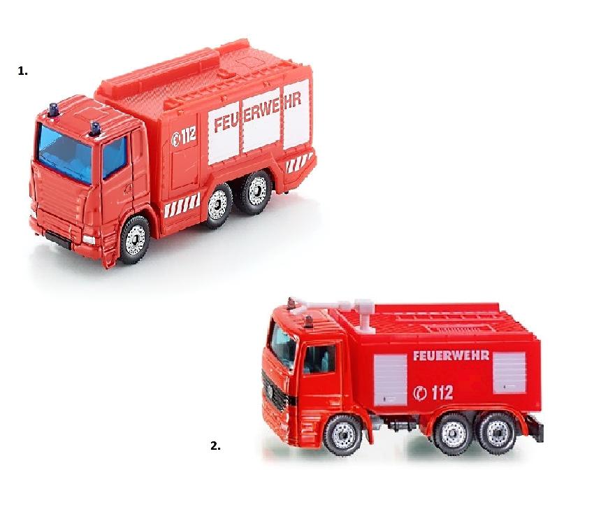 Купить Металлическая Пожарная машина, 1:87, Siku