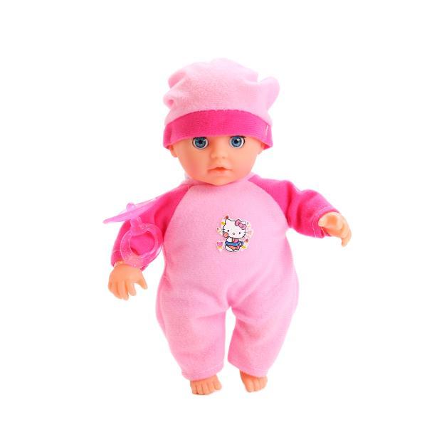 Купить Пупс из серии Hello Kitty 20 см., озвученная, мягкое тело, закрывает глазки, Карапуз
