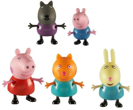 Купить Игровой набор Пеппа и друзья из серии Свинка Пеппа, 5 фигурок, Росмэн