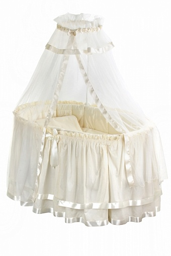 Комплект Nuovita Orsetti с декоративной юбочкой, 9 предметовДетское постельное белье<br>Комплект Nuovita Orsetti с декоративной юбочкой, 9 предметов<br>