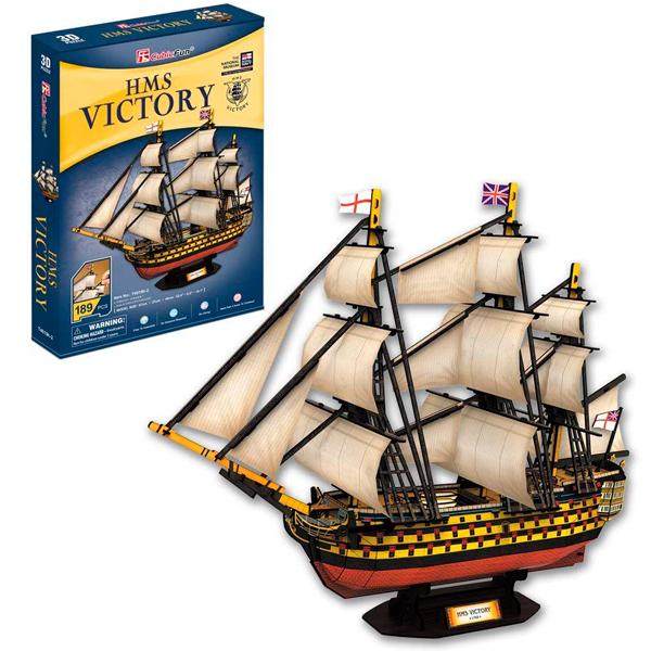 Купить 3D-пазл - Корабль Виктория, Cubic Fun