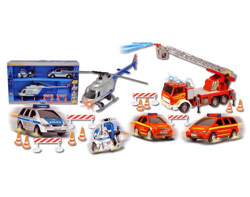 Игровой спасательный набор - Самолеты, службы спасения, артикул: 82910