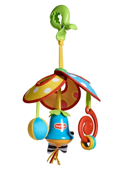 Яркая карусель – механическая подвеска для коляски – комплектация TRAVELДетские погремушки и подвесные игрушки на кроватку<br>Яркая карусель – механическая подвеска для коляски – комплектация TRAVEL<br>