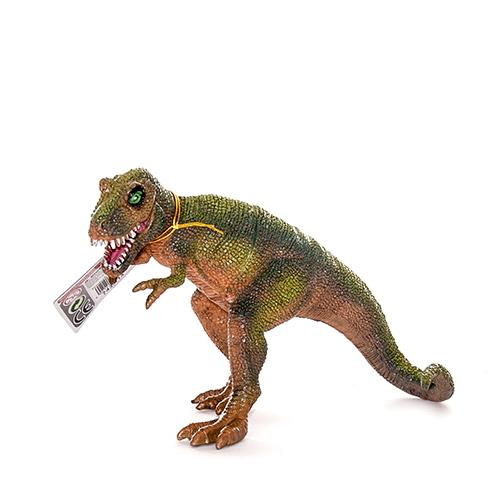 Фигурка динозавра. Тираннозавр  с двигающейся пастьюЖизнь динозавров (Prehistoric)<br>Фигурка динозавра. Тираннозавр  с двигающейся пастью<br>
