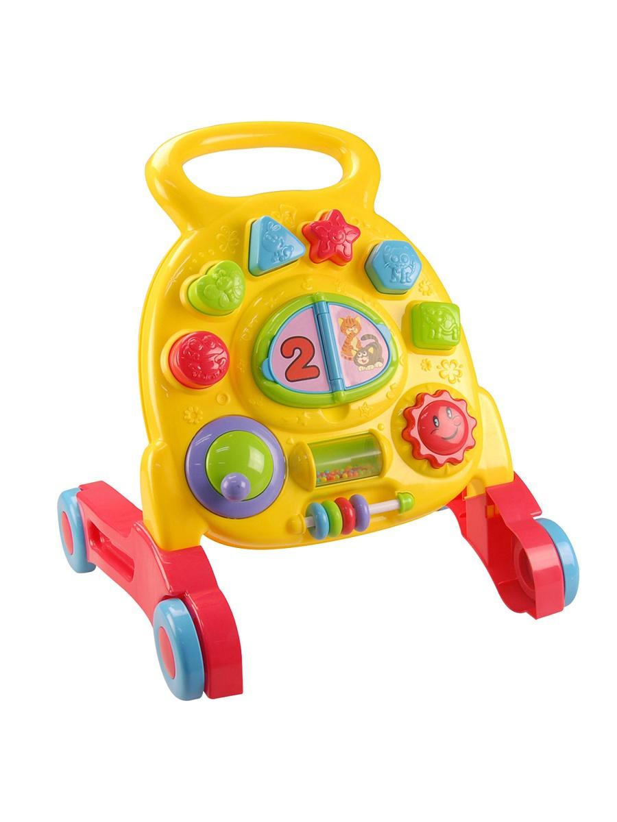 Каталка-ходунок-сортер - Мои первые шагиХодунки<br>Каталка-ходунок-сортер - Мои первые шаги<br>