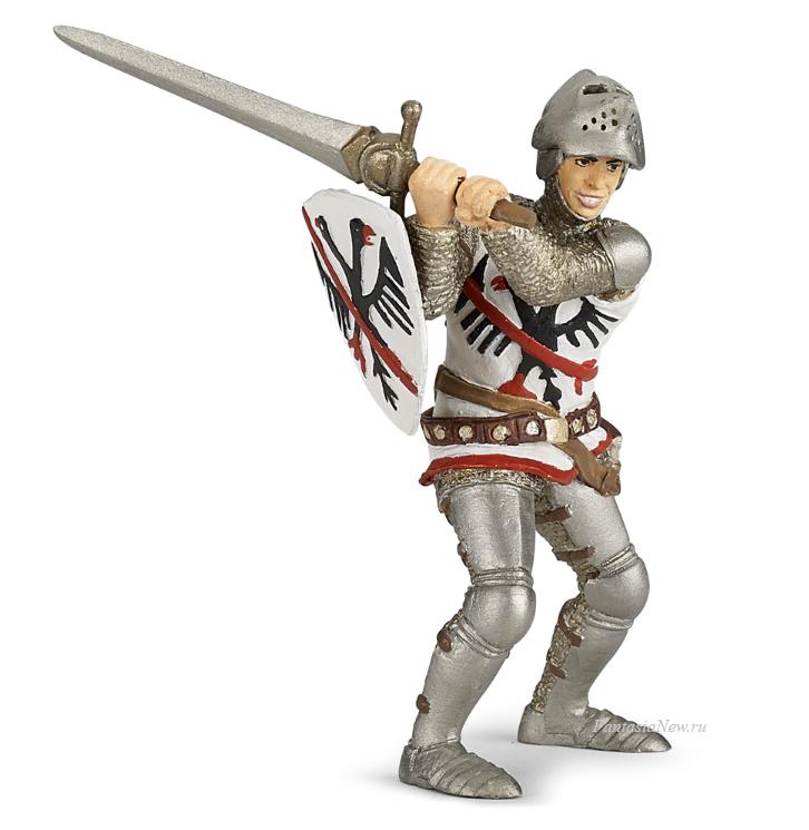 Фигурка рыцаря дю ГекленФигурки Papo<br>Фигурка рыцаря дю Геклен<br>