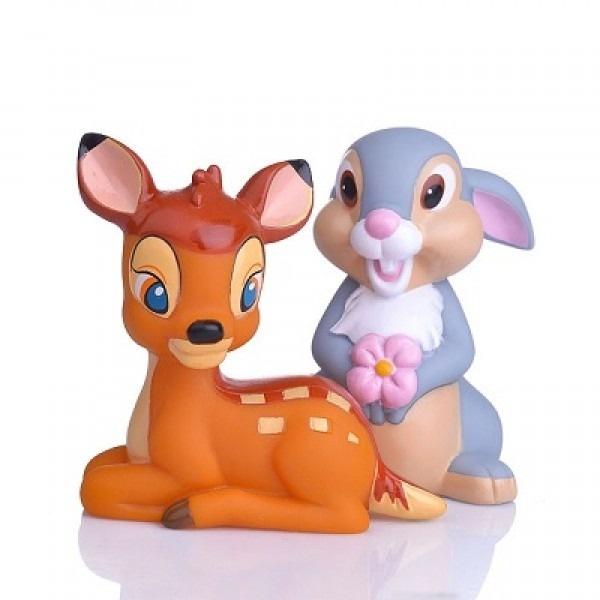Набор из 2 игрушек для купания - БэмбиРезиновые игрушки<br>Набор из 2 игрушек для купания - Бэмби<br>
