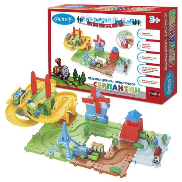 Железная дорога  Веселые приключения - Детская железная дорога, артикул: 161898