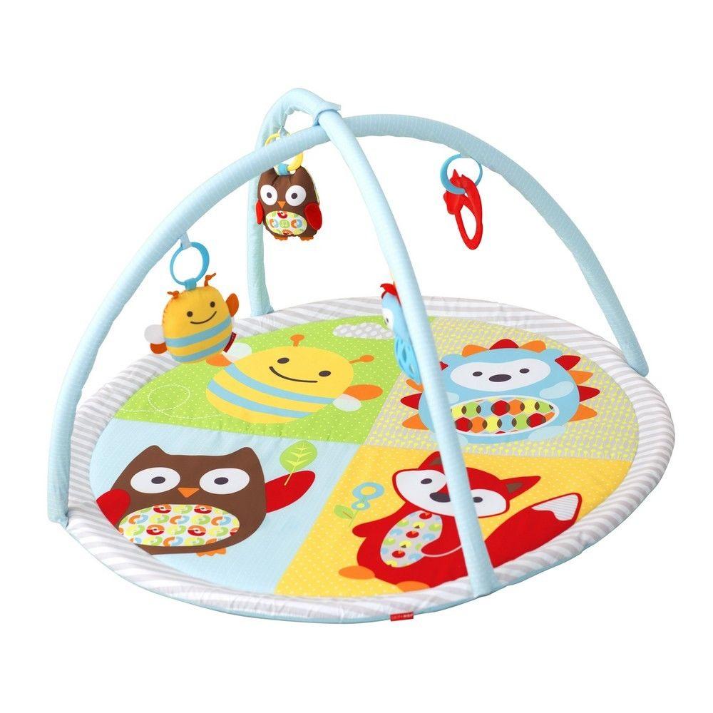 Развивающий коврик c дугами и игрушкамиДетские развивающие коврики для новорожденных<br>Развивающий коврик c дугами и игрушками<br>