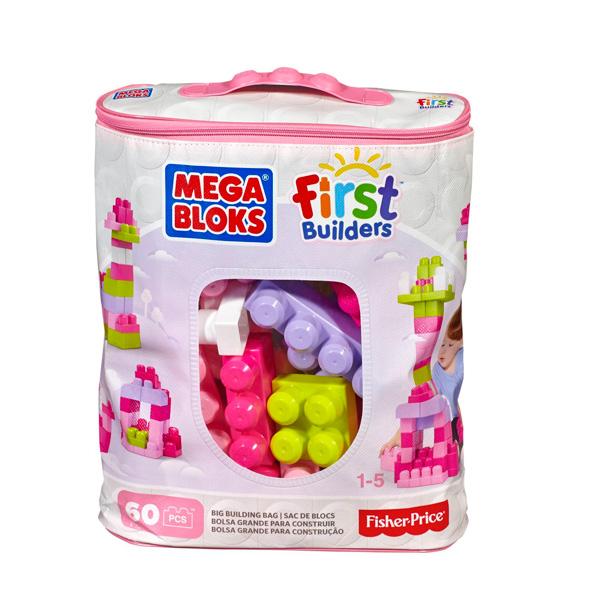 Конструктор из 60 деталей серия Mega Bloks First Builders, 2 вида - Конструкторы Mega Bloks, артикул: 168086