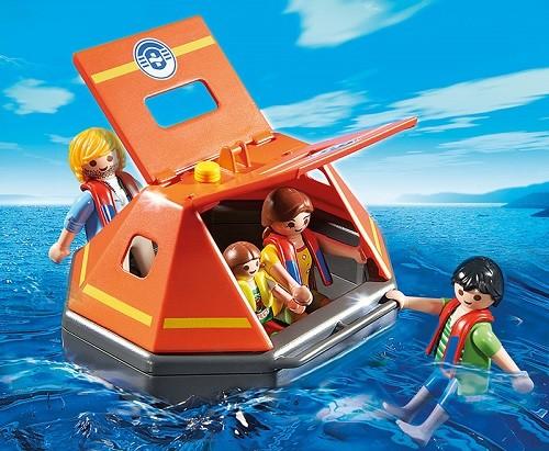 Игровой набор Береговая охрана: Спасательный плотПирс <br>Игровой набор Береговая охрана: Спасательный плот<br>