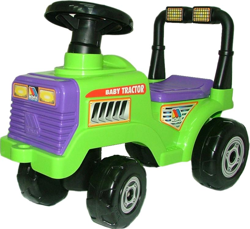 Детская каталка-трактор, Митя 2 - Машинки-каталки для детей, артикул: 97668