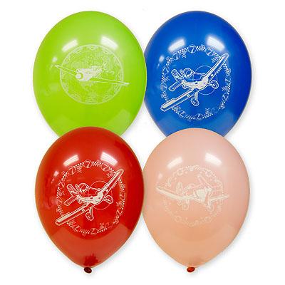 Набор шаров - Disney Самолеты, 5 шт. по 30 см.Воздушные шары<br>Набор шаров - Disney Самолеты, 5 шт. по 30 см.<br>
