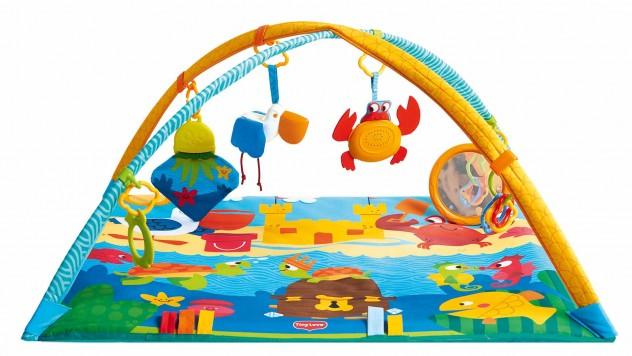 Развивающий коврик Морские приключенияДетские развивающие коврики для новорожденных<br>Развивающий коврик Морские приключения<br>
