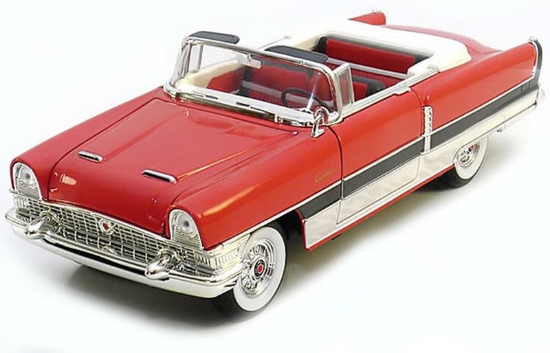 Коллекционная модель автомобиля 1955 года - Паккард Caribien, 1/18Винтажные модели<br>Коллекционная модель автомобиля 1955 года - Паккард Caribien, 1/18<br>
