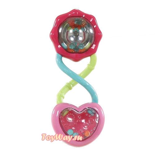 Развивающая игрушка Розовый калейдоскопДетские погремушки и подвесные игрушки на кроватку<br>Развивающая игрушка Розовый калейдоскоп<br>