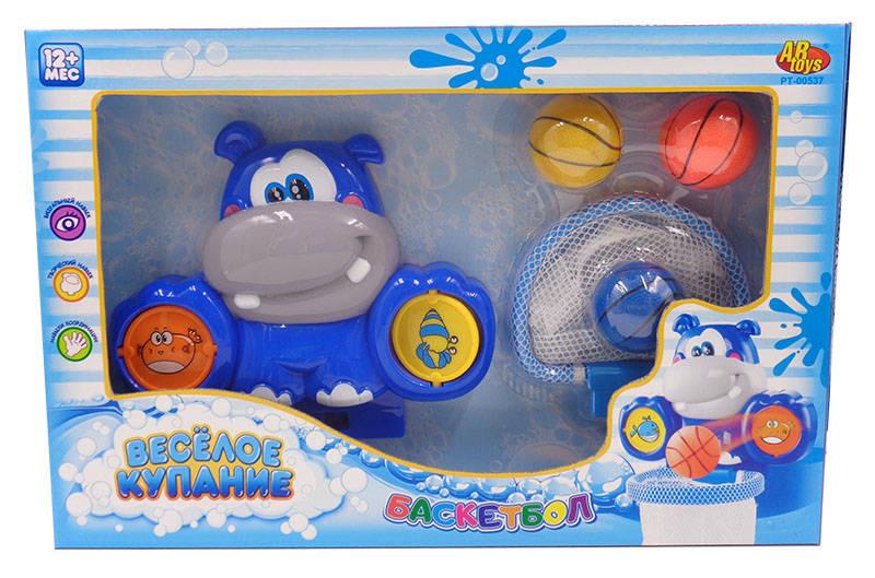Водный баскетбол для ванной - Веселое купаниеРазвивающие игрушки<br>Водный баскетбол для ванной - Веселое купание<br>