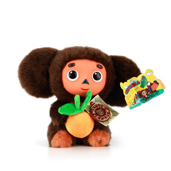 Купить Мягкая Игрушка Чебурашка 17 см., с апельсином, озвученная, Мульти-Пульти