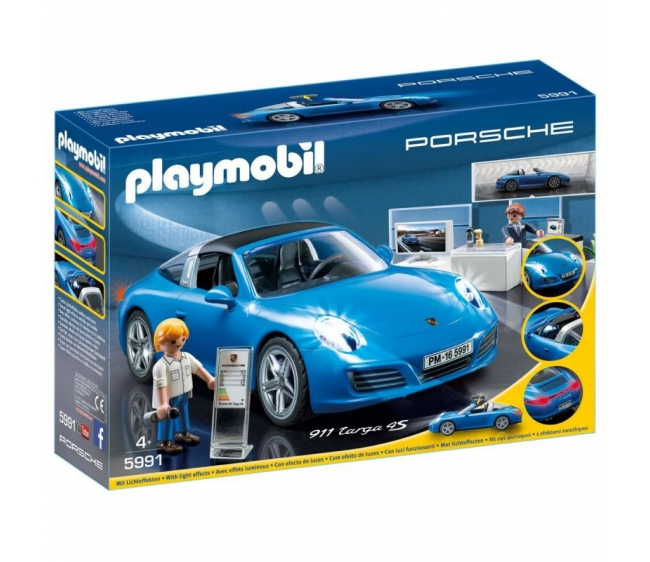 Купить Игровой набор из серии Лицензионные автомобили: Porsche 911 Targa 4S, Playmobil