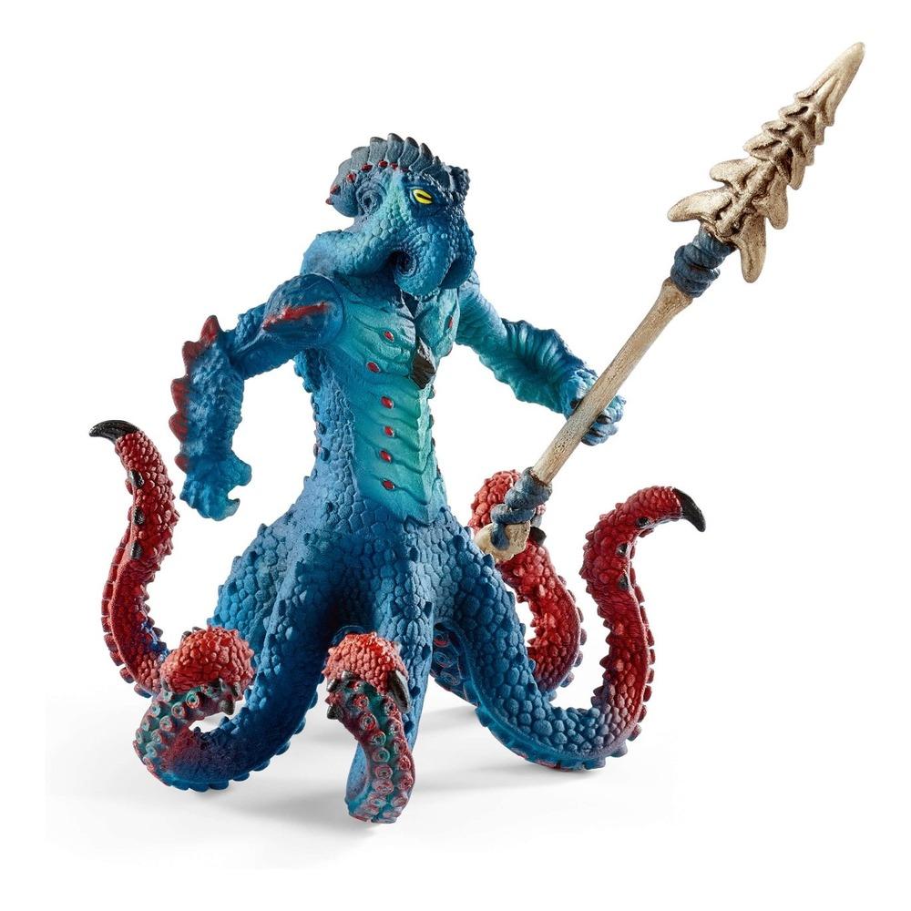 Купить Фигурка Eldrador Schleich Морское чудовище с оружием – Кракен