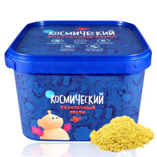 Космический песок, желтый, 3 кгКинетический песок<br>Космический песок, желтый, 3 кг<br>