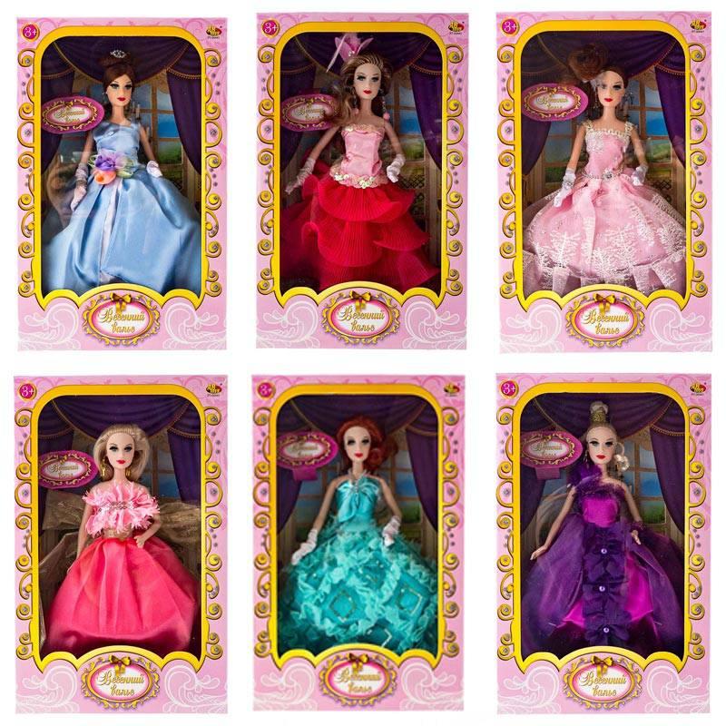 Кукла из серии Весенний вальс, 6 видов, в коробкеПупсы<br>Кукла из серии Весенний вальс, 6 видов, в коробке<br>