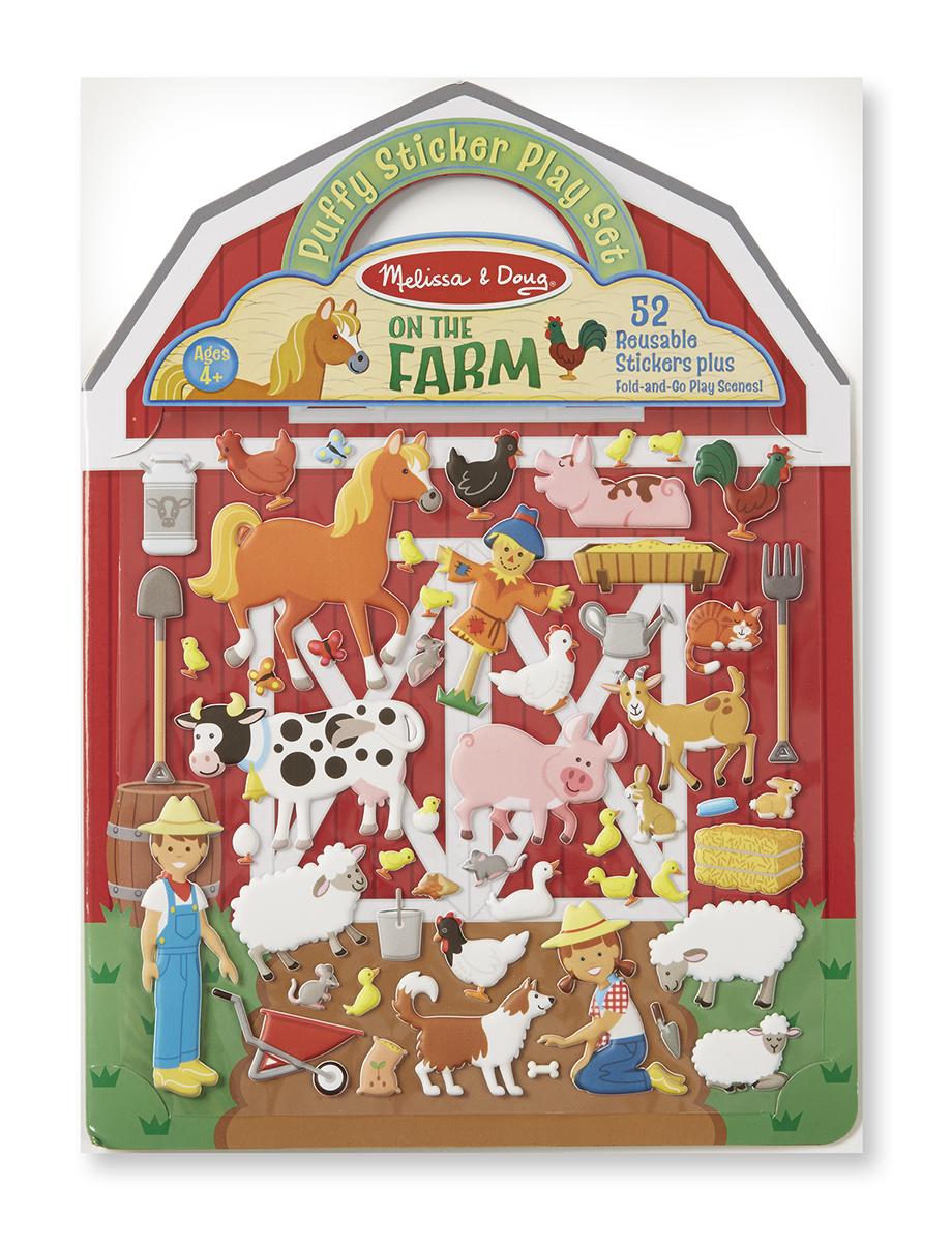 Купить Набор стикеров - Ферма из серии Творчество, Melissa&Doug