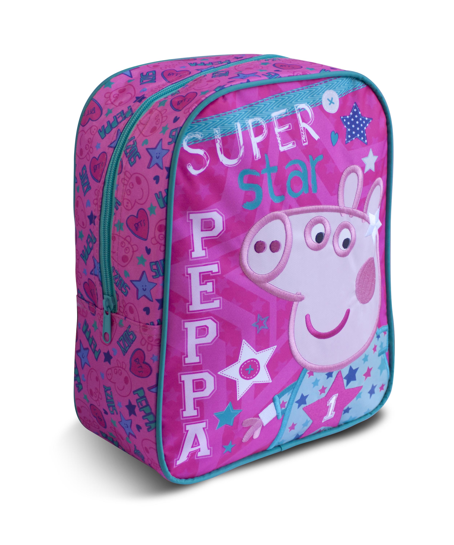 Рюкзачок средний «Свинка Пеппа Superstar»Детские рюкзаки<br>Рюкзачок средний «Свинка Пеппа Superstar»<br>