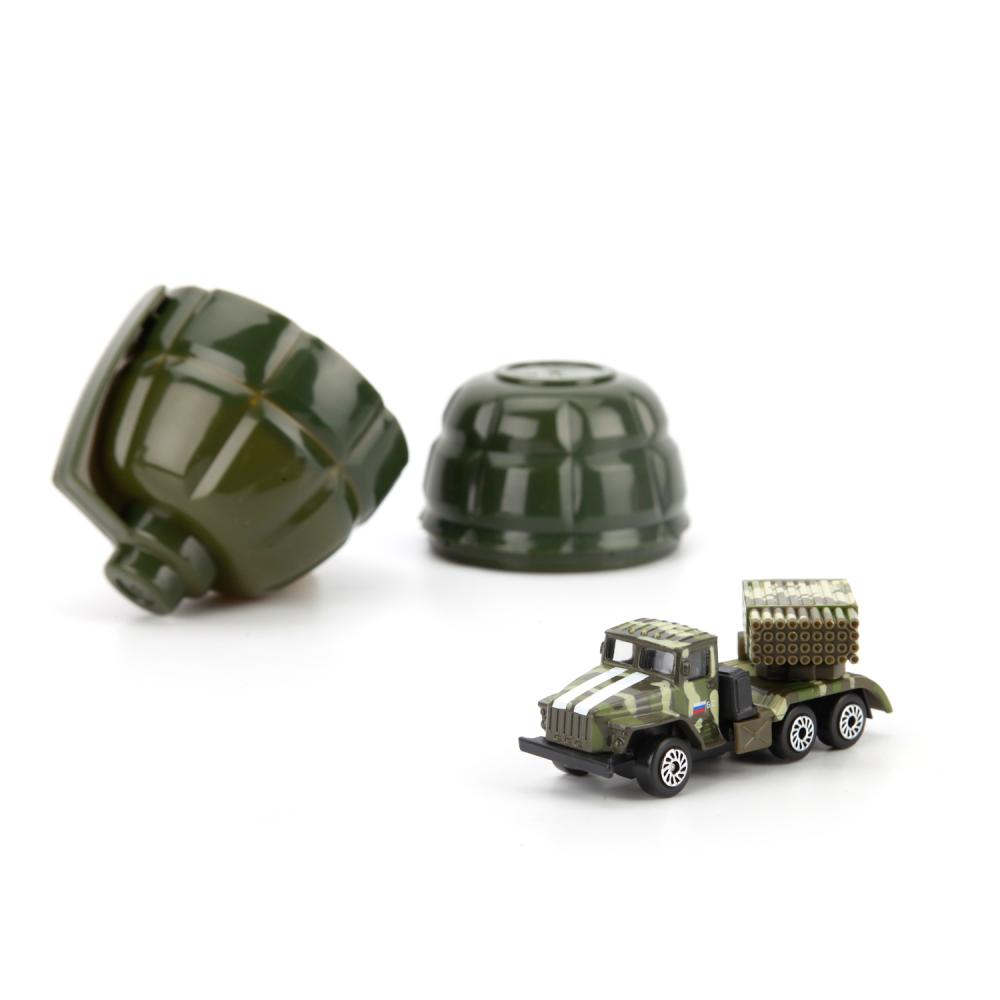 Купить Модель машины в гранате – Военная техника, 7, 5 см, Технопарк