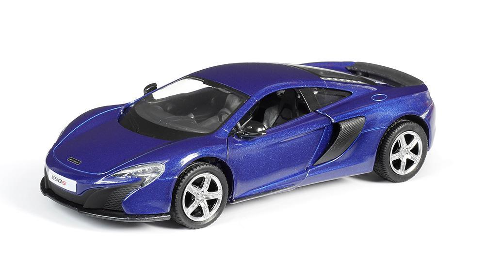 Машина металлическая RMZ City 1:32 McLaren 650S, инерционная, цвет синий  - купить со скидкой
