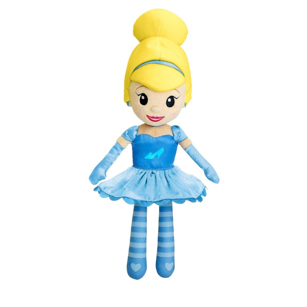 Мягкая кукла Disney Princess - Волшебные мелодии - ЗолушкаЗолушка<br>Мягкая кукла Disney Princess - Волшебные мелодии - Золушка<br>
