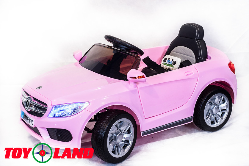 Электромобиль Mercedes MB розовыйЭлектромобили, детские машины на аккумуляторе<br><br>