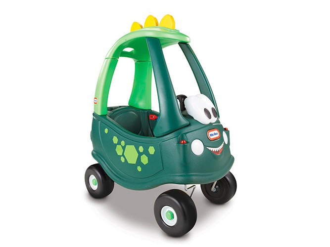 Игрушка каталка Дино, зелена