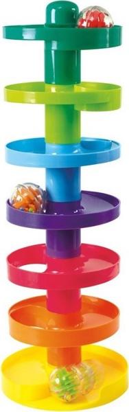Развивающая игрушка - Башня Супер-спиральРазвивающие игрушки PlayGo<br>Развивающая игрушка - Башня Супер-спираль<br>