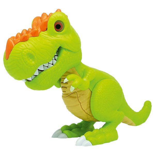 Игрушка Junior Megasaur - Динозавр, зеленый, свет, звук, движениеИнтерактивные животные<br>Игрушка Junior Megasaur - Динозавр, зеленый, свет, звук, движение<br>