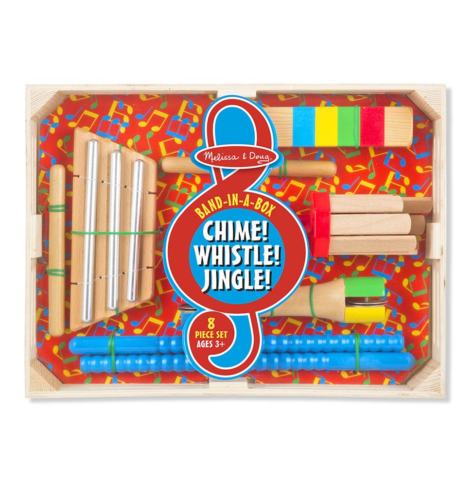 Музыкальный набор  Первые игрушки – Погремушки - Деревянные игрушки, артикул: 164357