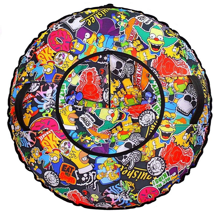 Тюбинг ™RT - Семья Симпсонов, диаметр 100 см