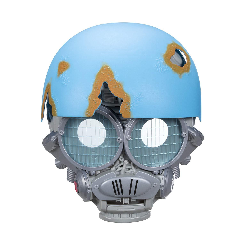 Электронная маска со звуком Трансформеры. Последний рыцарь - Автобот Sqweeks