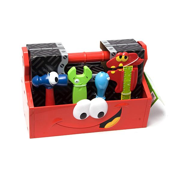 Набор инструментов, 14 предметов в коробкеДетские мастерские, инструменты<br>Набор инструментов, 14 предметов в коробке<br>