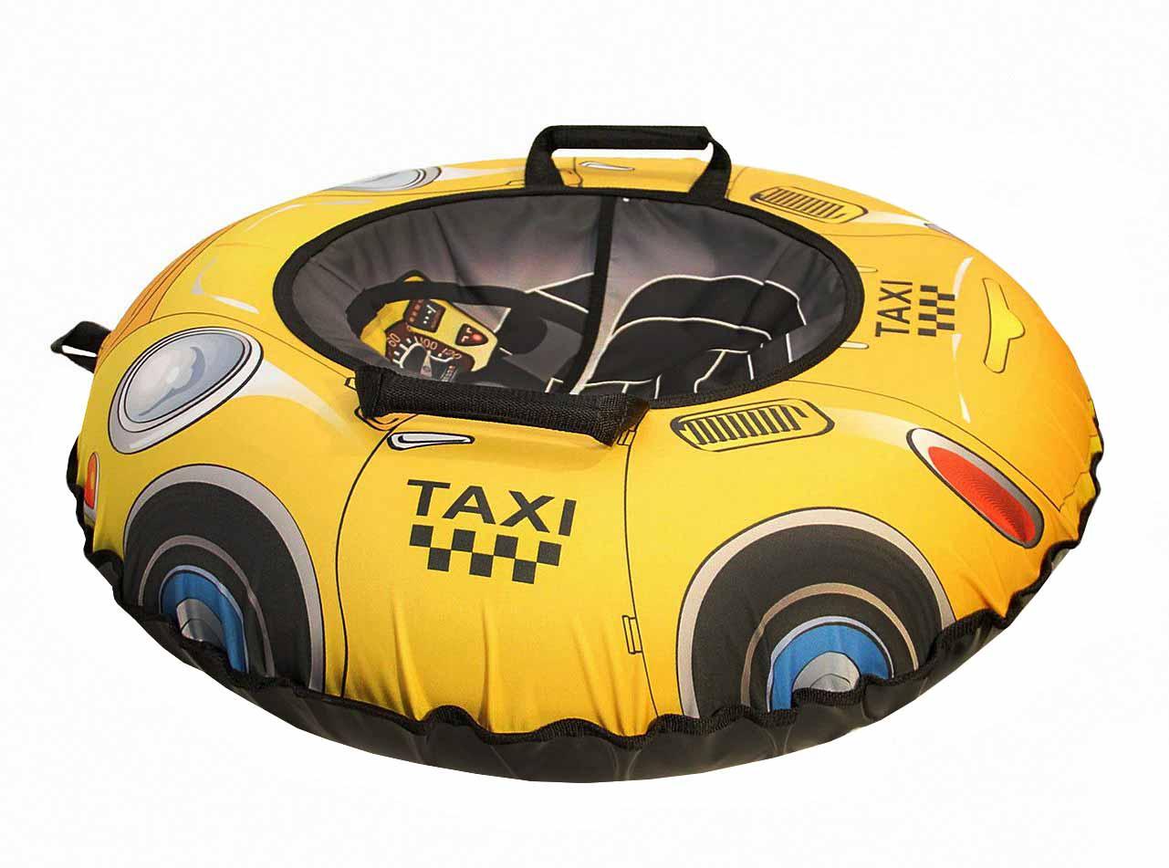 Санки надувные - Тюбинг Эксклюзив, такси, диаметр 100 смВатрушки и ледянки<br>Санки надувные - Тюбинг Эксклюзив, такси, диаметр 100 см<br>