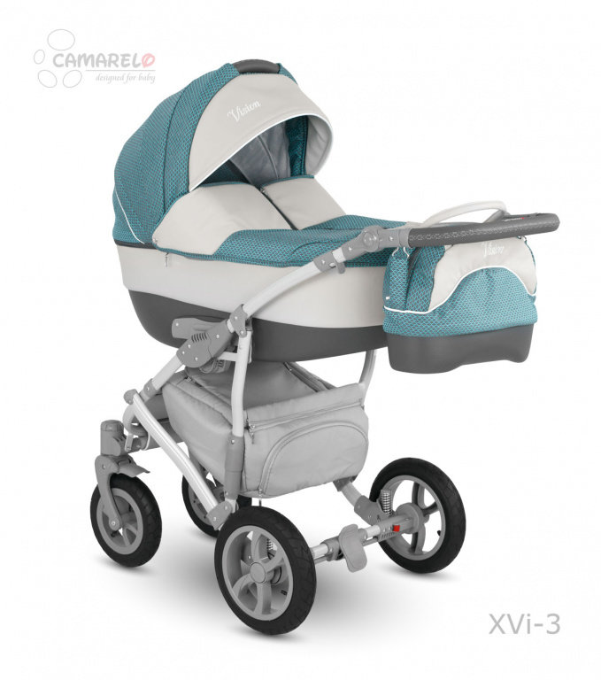 Детская коляска Camarelo Vision 2 в 1 - XVI-3Детские коляски 2 в 1<br>Детская коляска Camarelo Vision 2 в 1 - XVI-3<br>