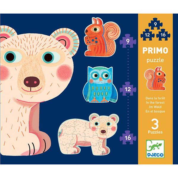 Пазл-головоломка - В лесуПазлы для малышей<br>Пазл-головоломка - В лесу<br>