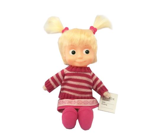 Мягкая игрушка Маша и Медведь - Маша в свитере, 29 см фото