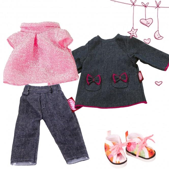 Набор одежды из денима - Маст Хэв, 27 см, Gotz  - купить со скидкой