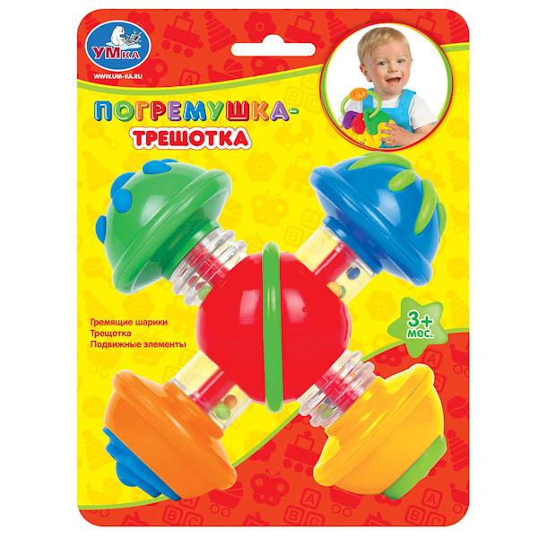 Погремушка-трещоткаДетские погремушки и подвесные игрушки на кроватку<br>Погремушка-трещотка<br>