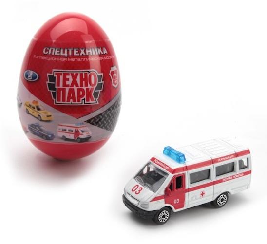 Коллекционные модели в яйце - Спецслужбы, 1:72Самолеты, службы спасения<br>Коллекционные модели в яйце - Спецслужбы, 1:72<br>