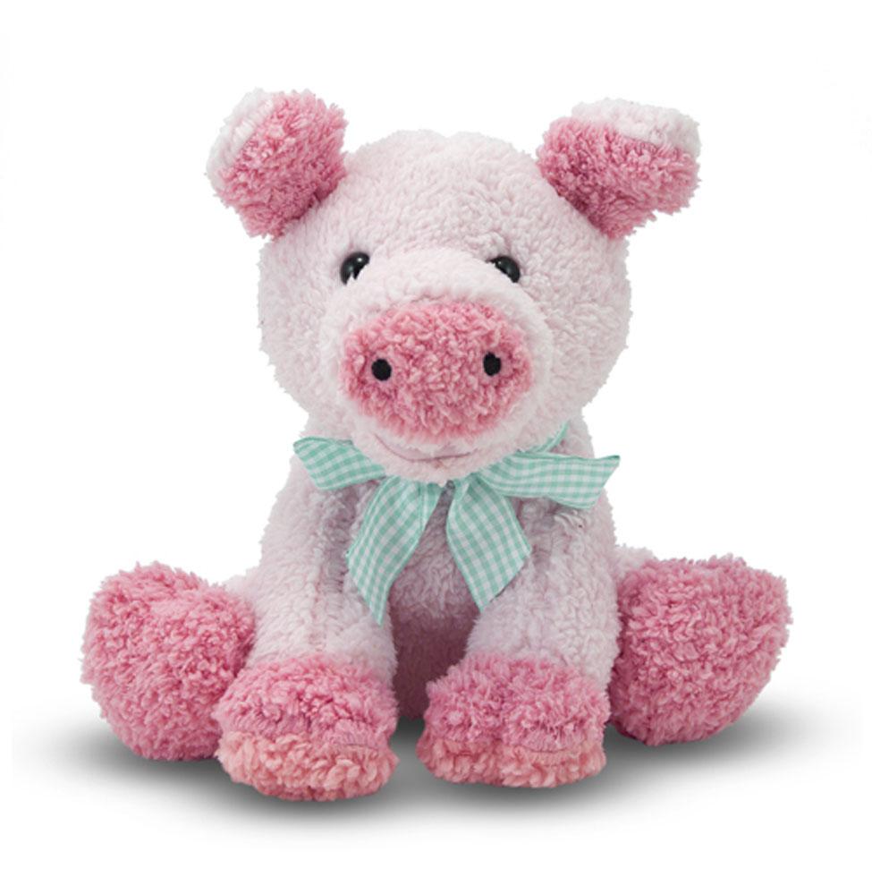 Купить Мягкая игрушка – Свинка, 20 см., Melissa&Doug